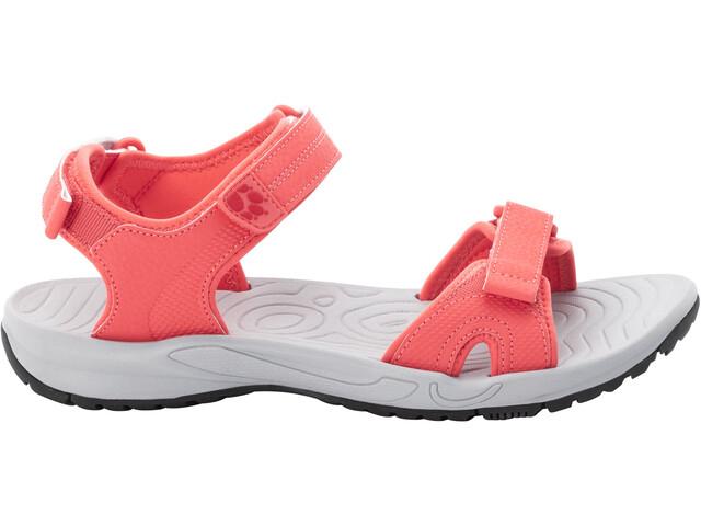 Jack Wolfskin Lakewood Cruise Sandals Women rose/grey